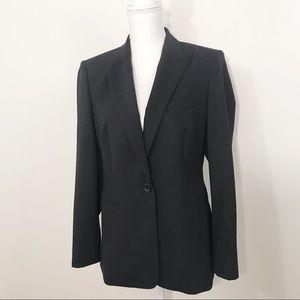 Hugo Boss Juicy Blazer Black Wool Blend - Size 10